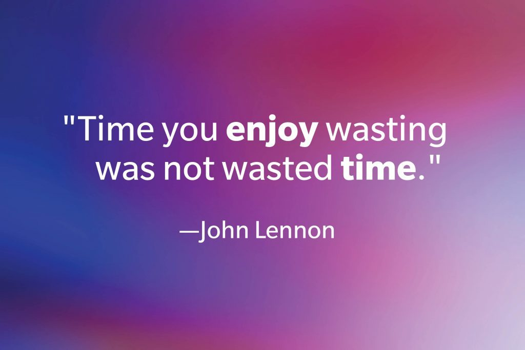 Quote by John Lennon on a gradient