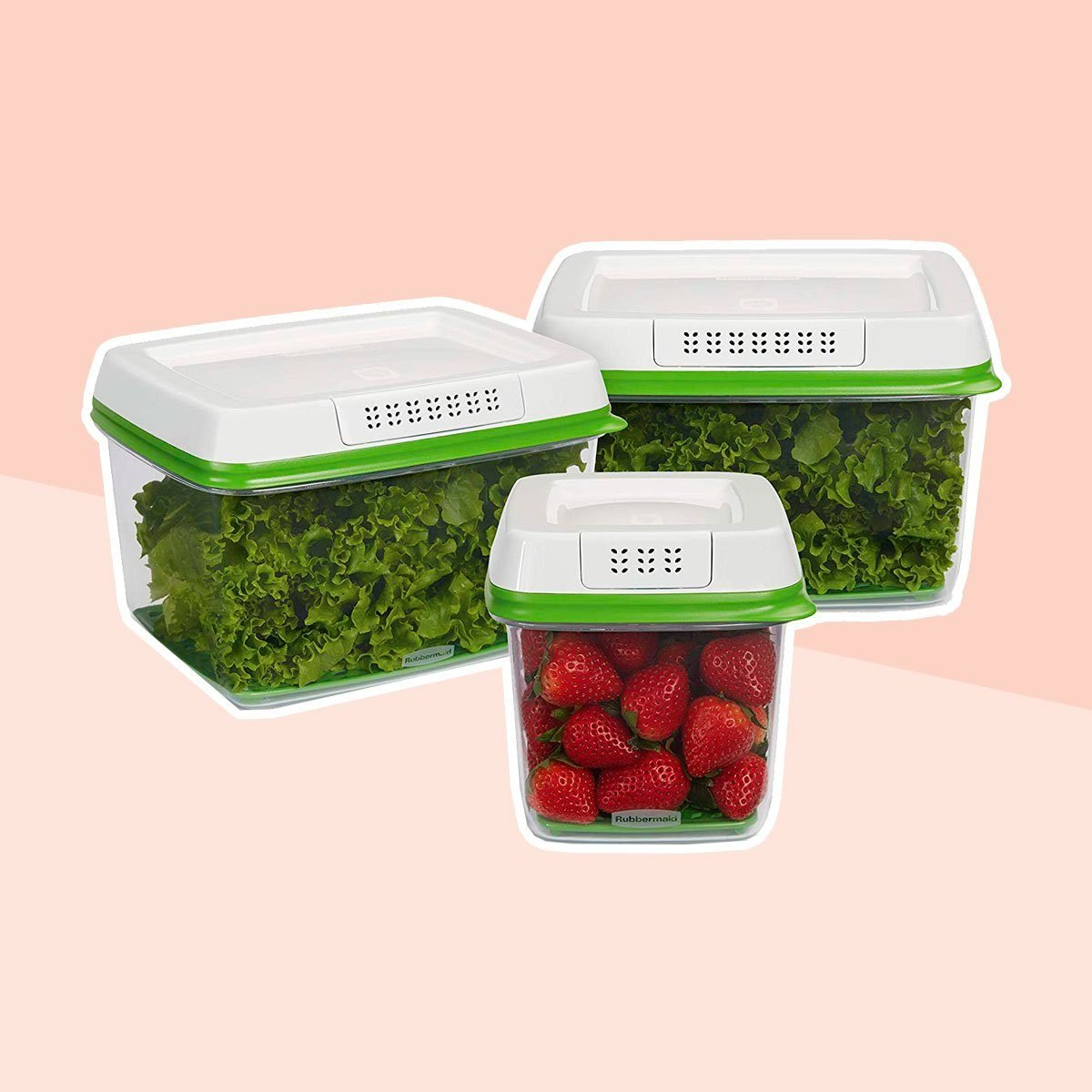 Produce saver container