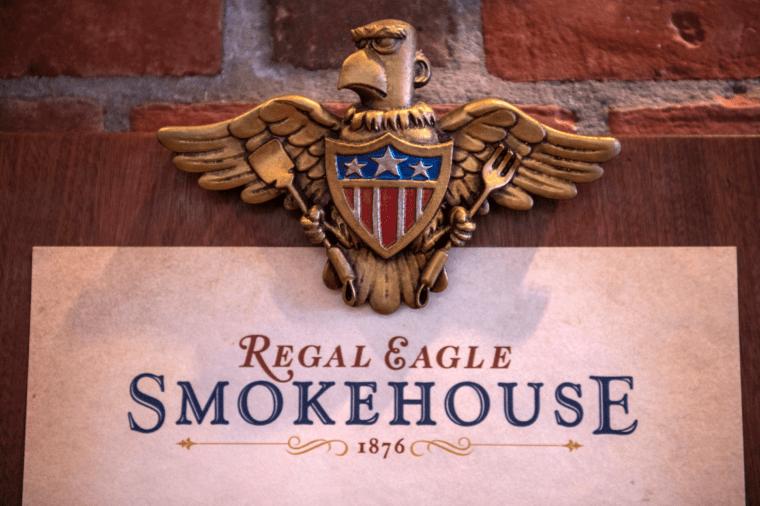 regal eagle american pavillion smokehouse disney epcot