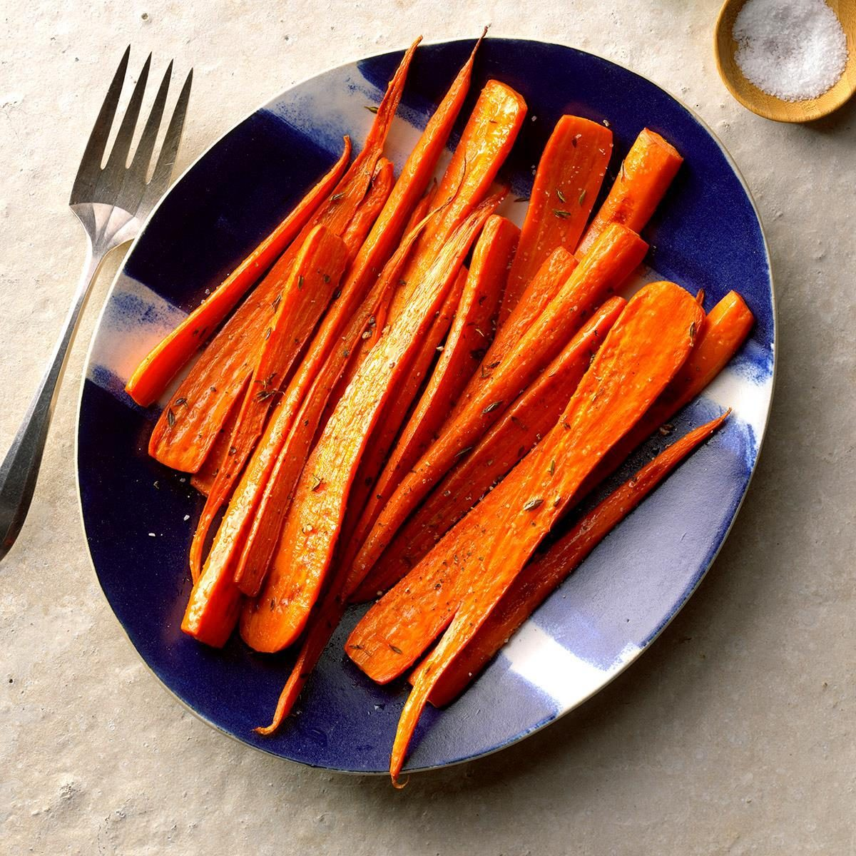 Roasted Carrots with Thyme