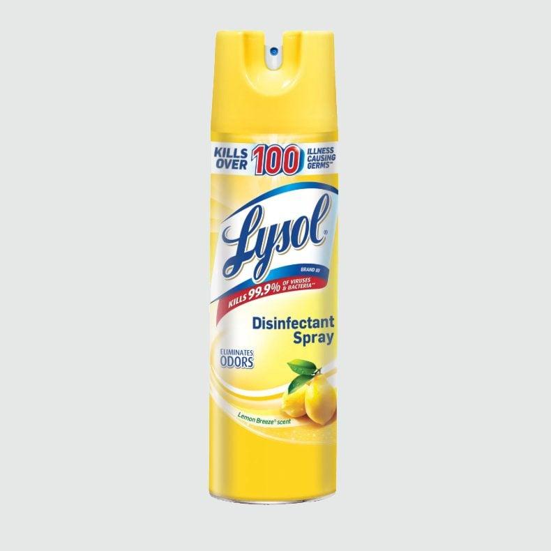 lysol spray phone sanitizer