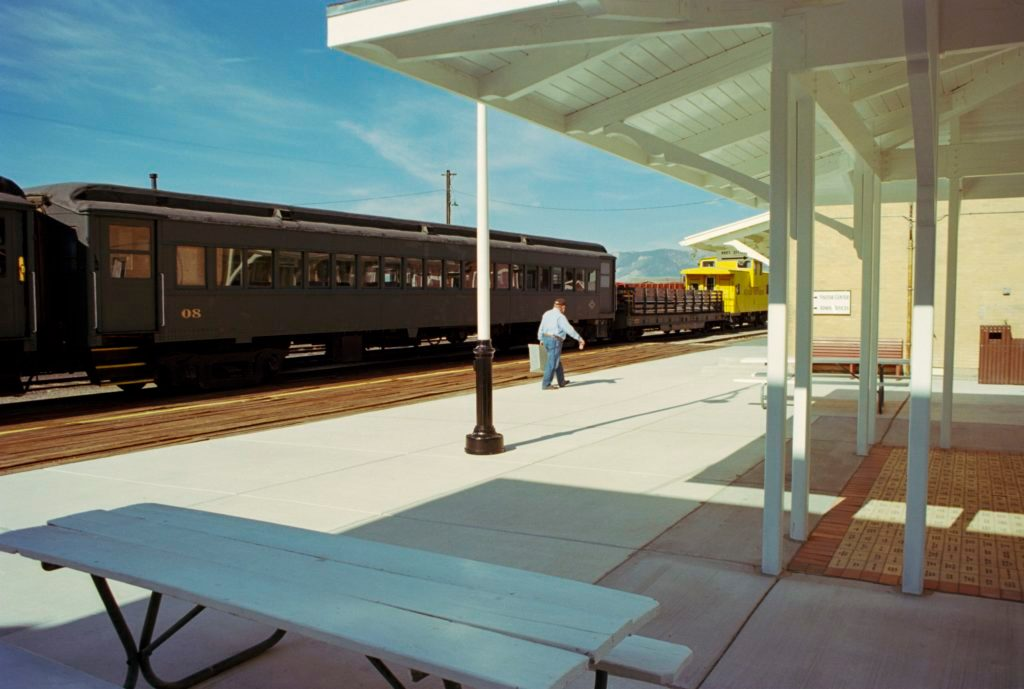 nevada train station Larry Niehues