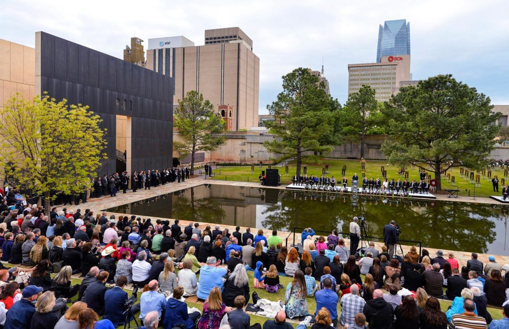 event at the oklahoma city national memorial and museum