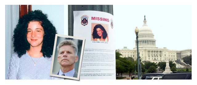 chandra levy, congressman condit, and the flyer that blanketed washington in 2001