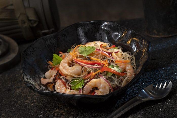 Surabat Shrimp & Noodle Salad from Docking Bay 7 Food and Cargo inside Star Wars: Galaxy's Edge