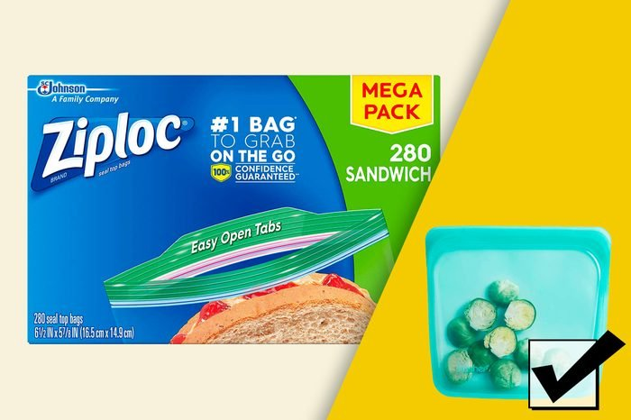 what to use instead of ziploc bags