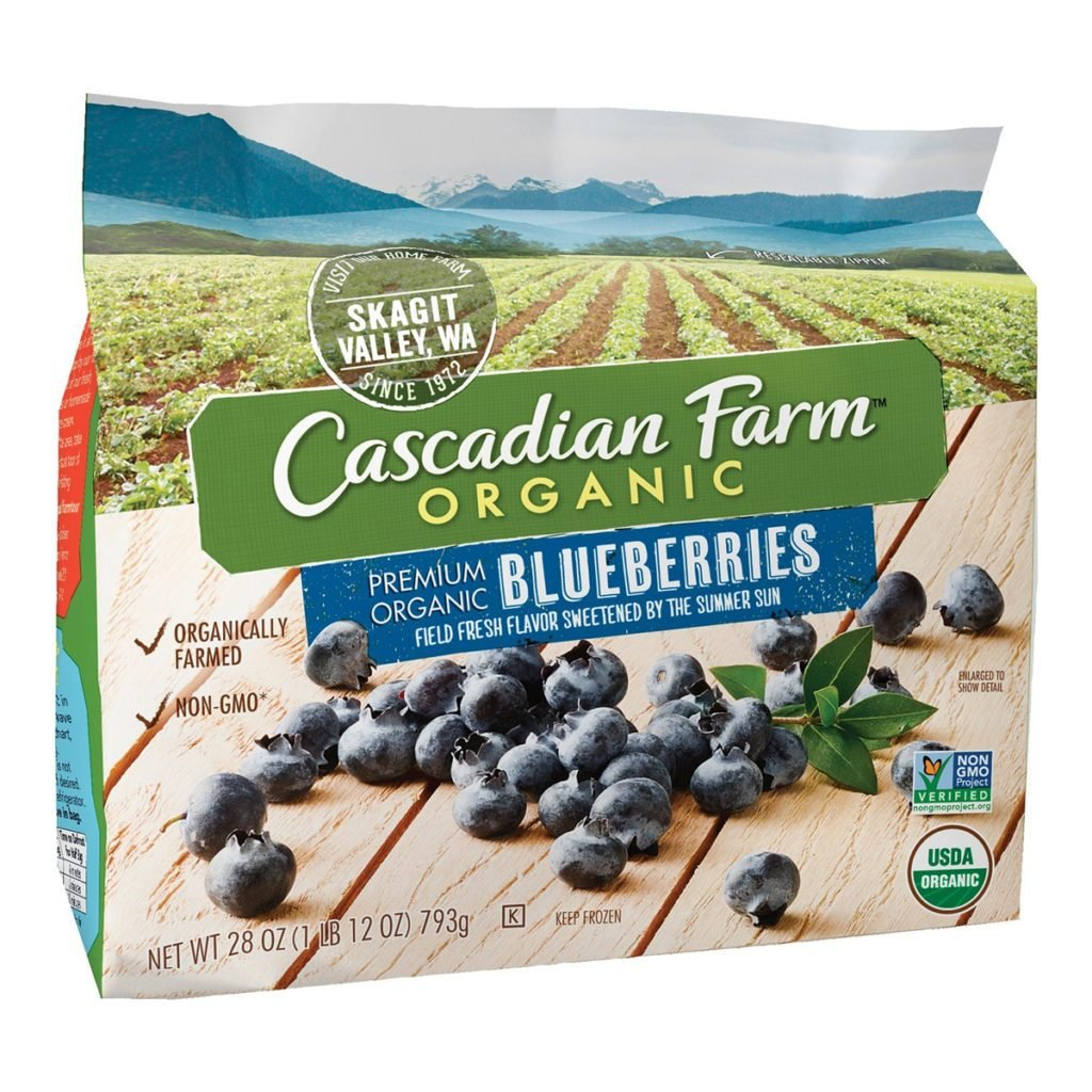 Cascadian, amazon, blueberries, product