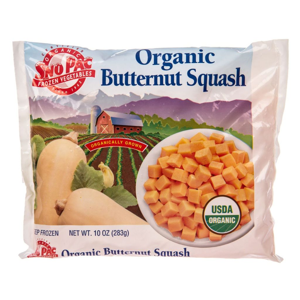 Rocky Mountain Organic, amazon, squash, frozen, product