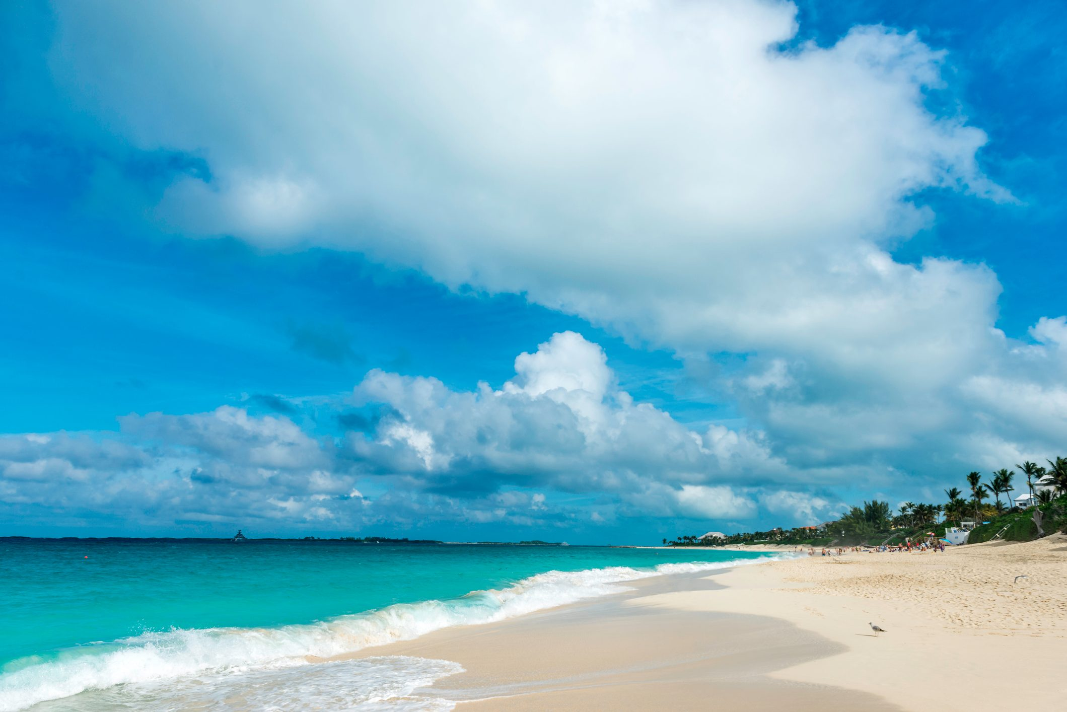 Cabbage Beach, Nassau - Bahamas