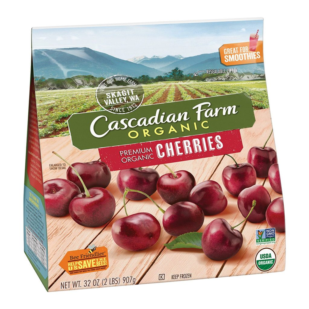 Cascadian, amazon, cherries, frozen, product