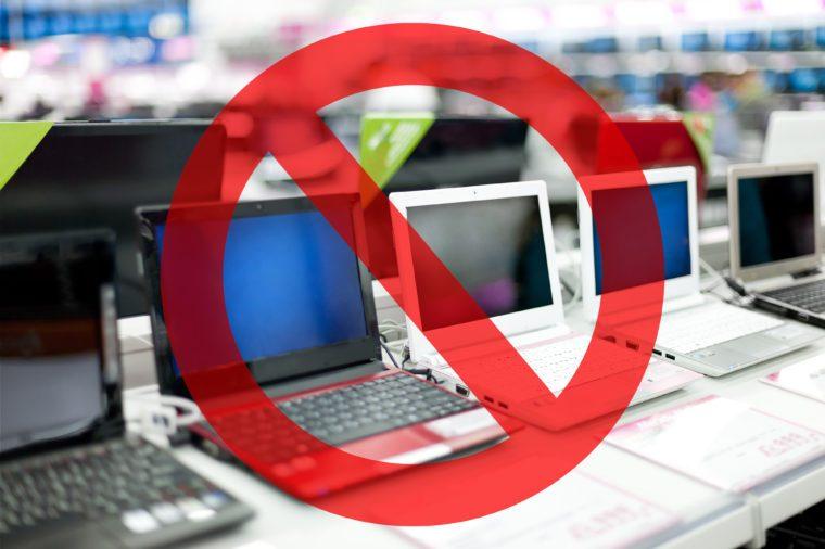 electronics walmart dont buy