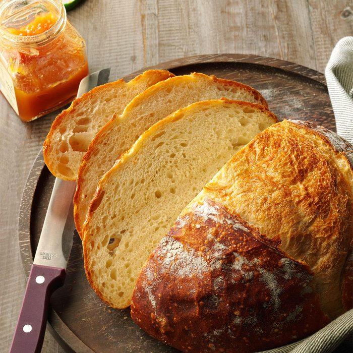 Crusty Homemade Bread 180460