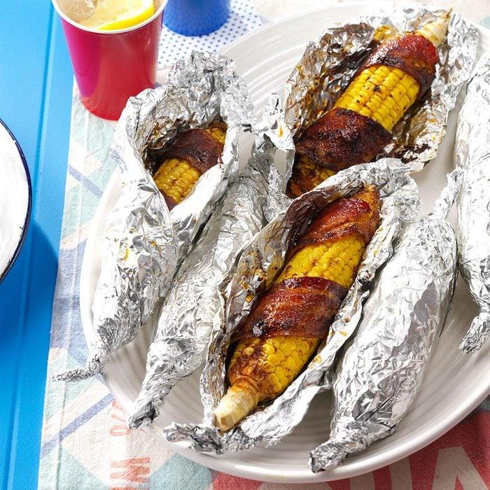 Bacon-Wrapped Corn