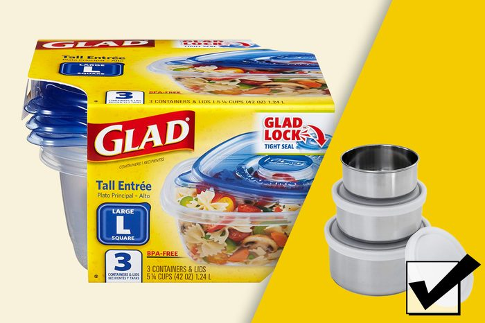 what to use instead of glad tupperware