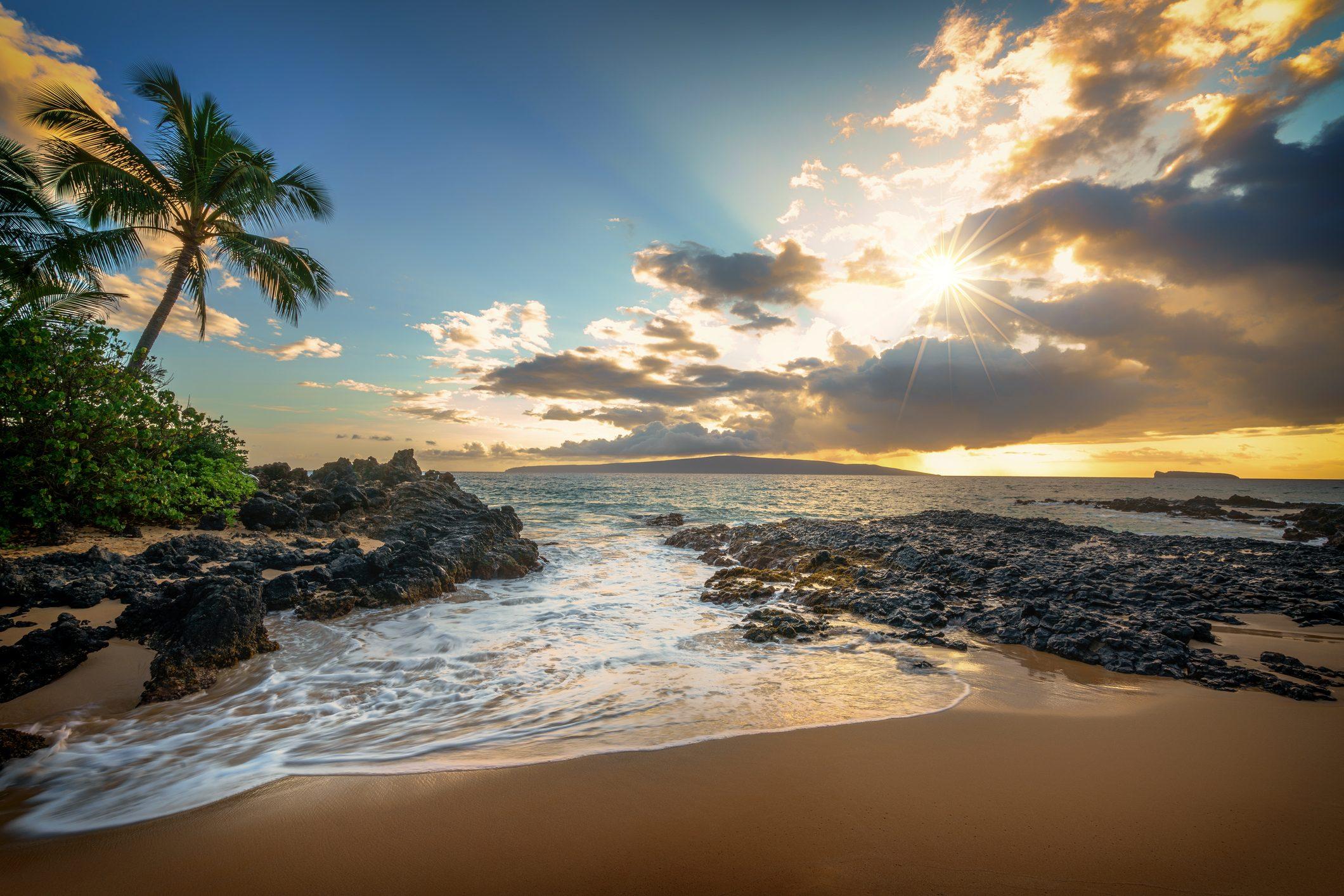 Makena Beach Makena Cove Sunset #1