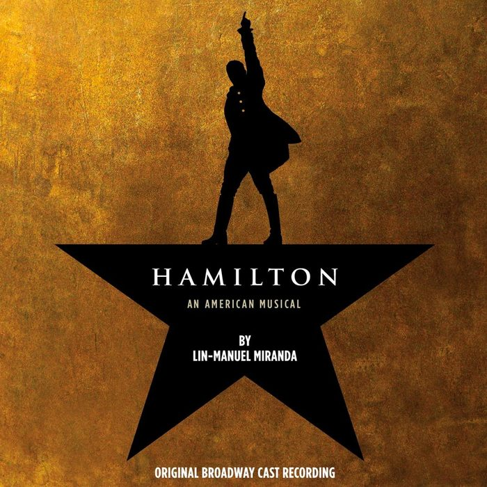 hamilton cast recording cover