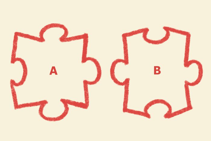 jigsaw shuffler question. illustrated puzzle pieces by maria amador.