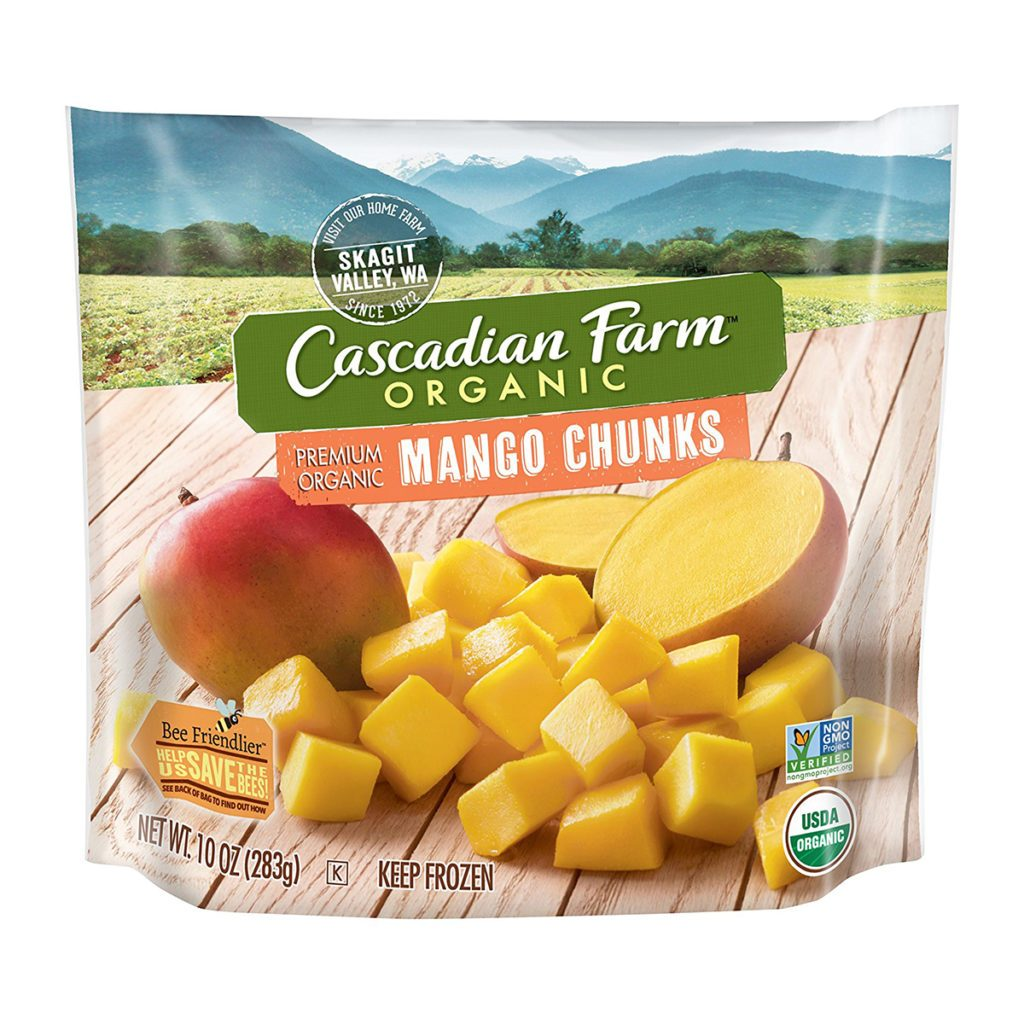 Cascadia, amazon, mango, frozen. product