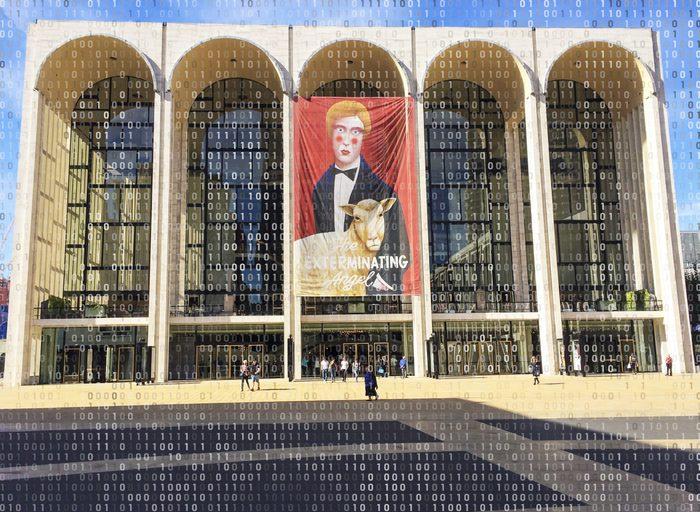 the metropolitan opera house new york