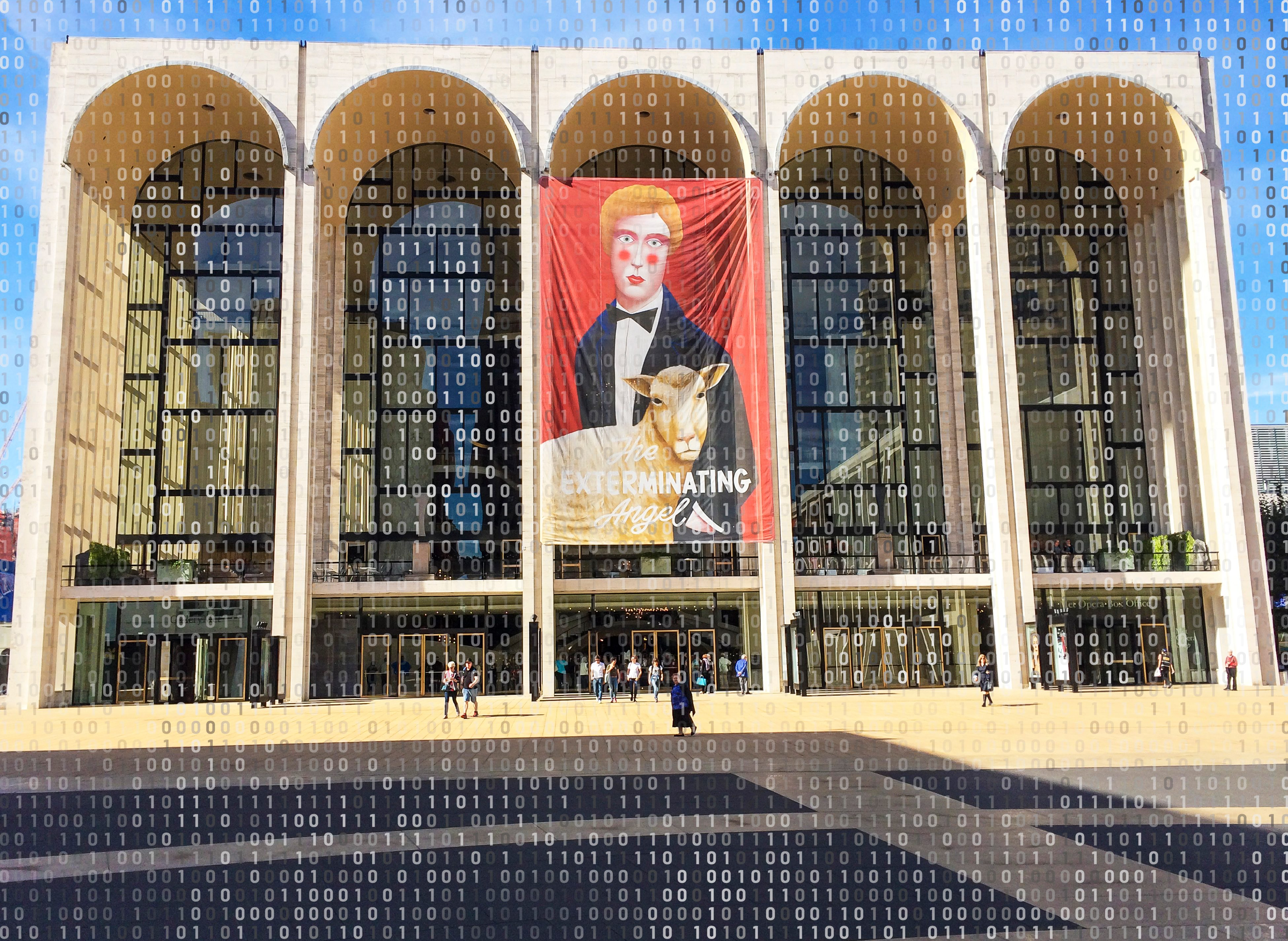 the metropolitan opera house new york