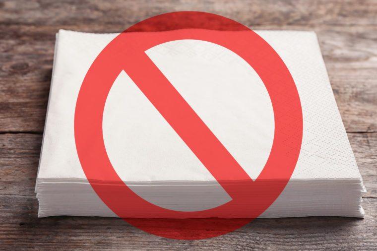 kitchen napkins