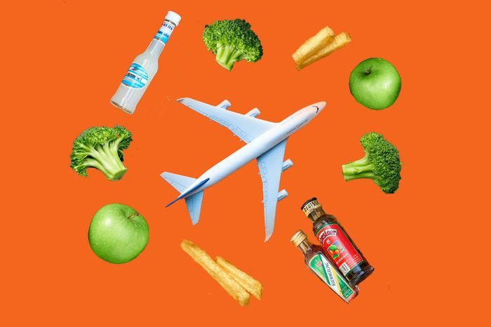 foods not to eat before flying