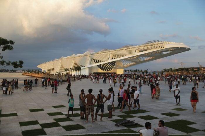 Opening Of Calatrava's Museum Of Tomorrow In Rio De Janeiro, Brazil