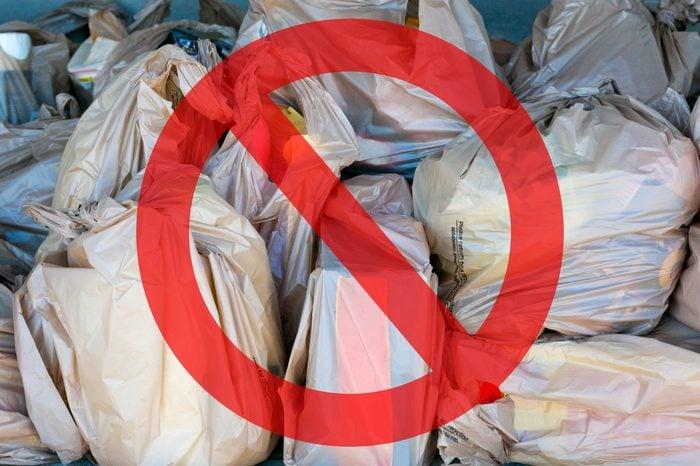 plastic bags garbage danger