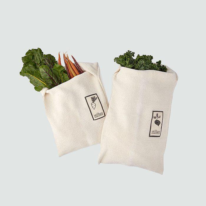 Veggie saving reusable bags