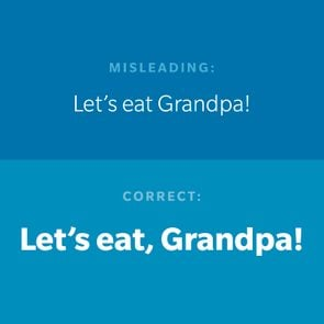 Punctuation mistakes