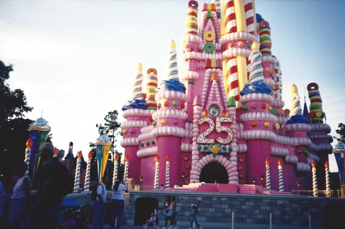 magic kingdom disney world 25th anniversary