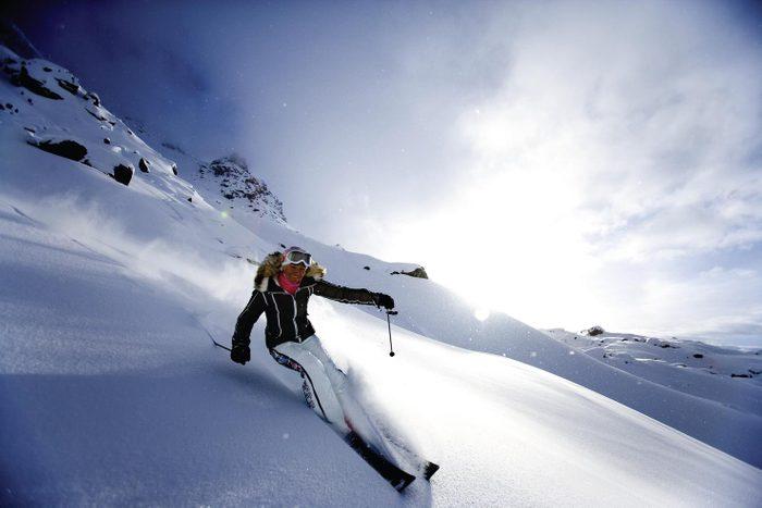Carlton Hotel St. Moritz swiss town winter mountain