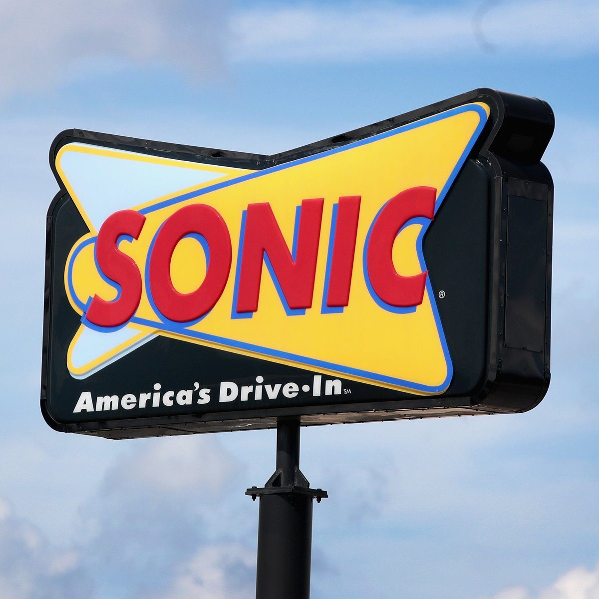 CICERO, IL - SEPTEMBER 25: A sign advertises the location of a Sonic restaurant on September 25, 2018 in Cicero, Illinois. Inspire Brands Inc., the parent company of Arby's and Buffalo Wild Wings, announced today that it was buying Sonic for $2.3 billion. (Photo by Scott Olson/Getty Images)