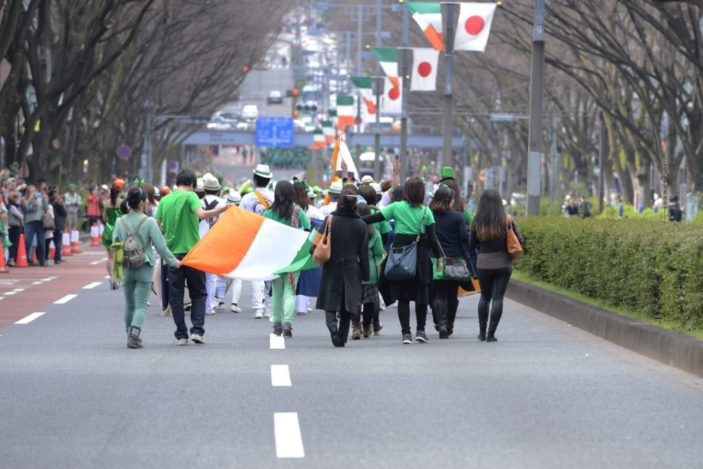Tokyo Celebrates St. Patrick's Day