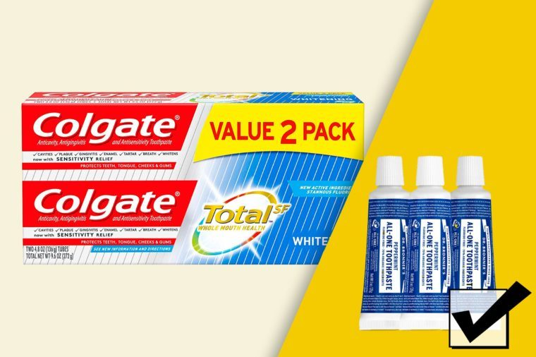 what to use instead of colgate toothpaste