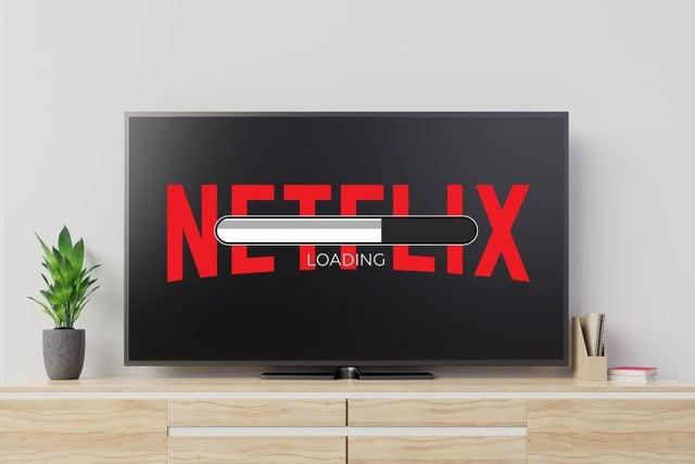 netflix not loading on a tv