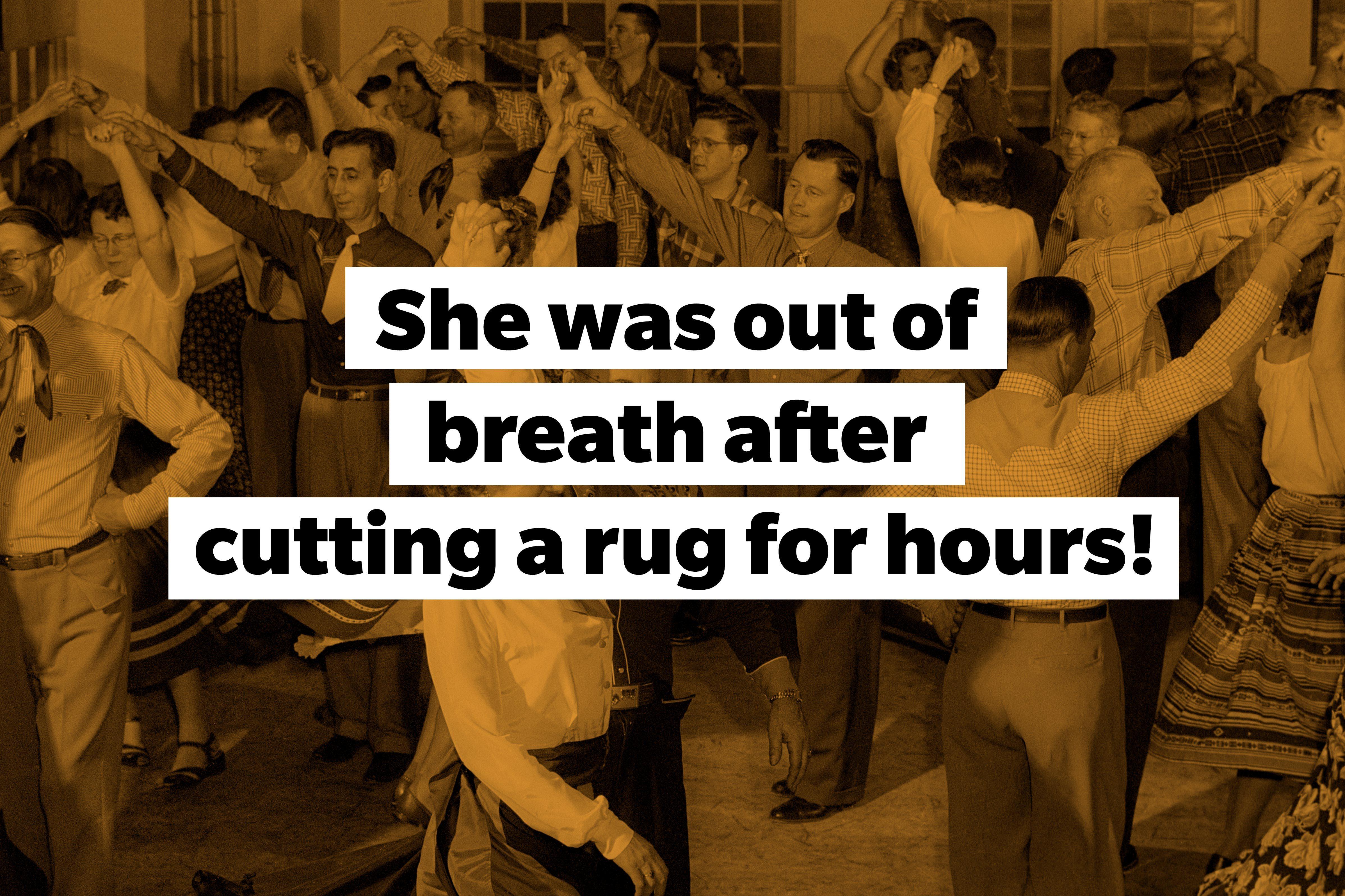 slang words cut a rug