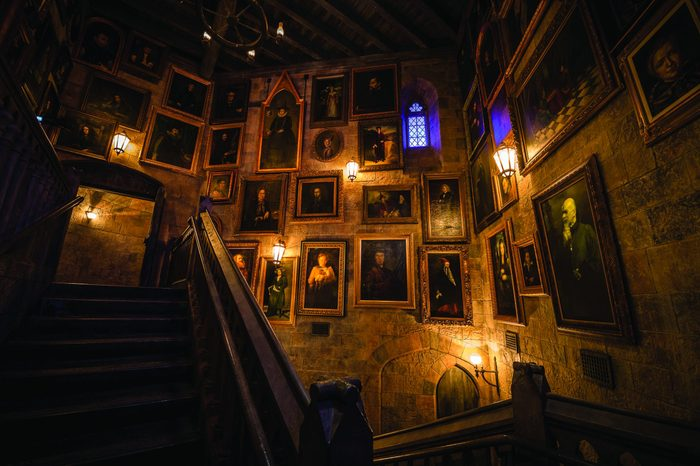 harry potter and the forbidden journey at orlando universal studios