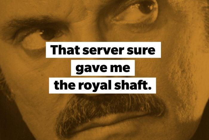 The royal shaft slang words