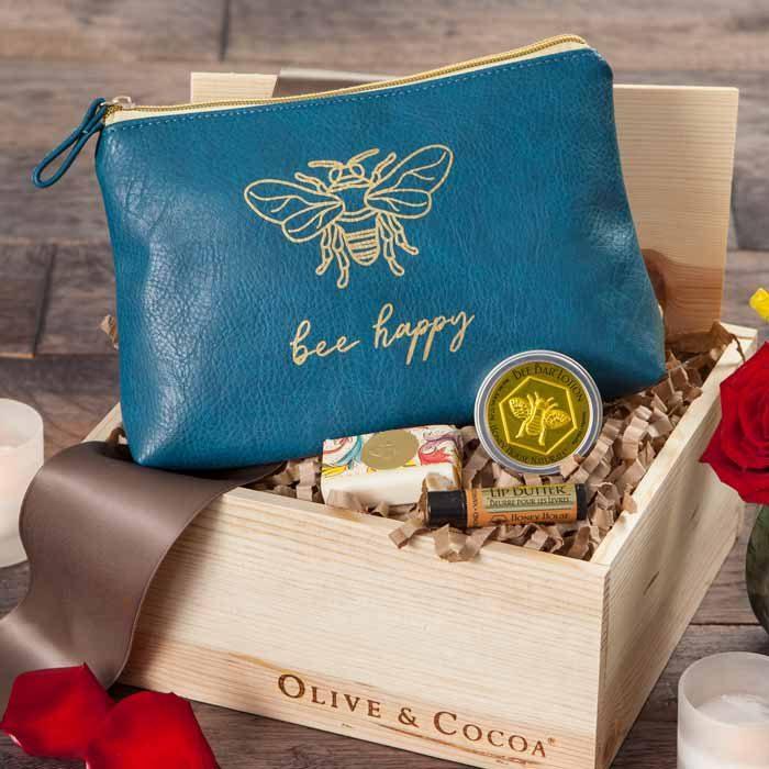 Olive & Cocoa Bee Happy Beauty Bag