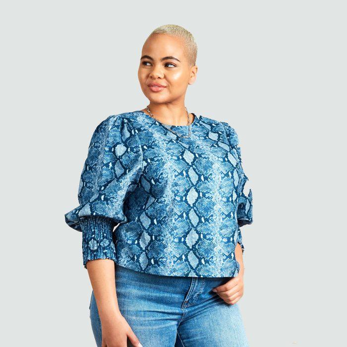 blouse shirt video call