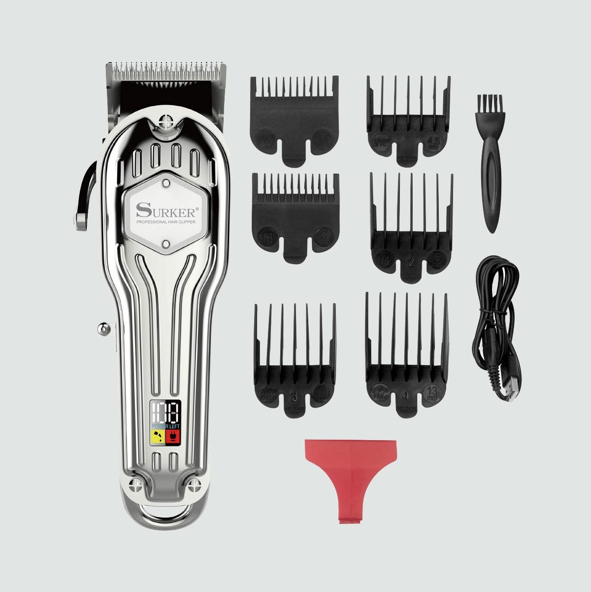 Surker Professional 5-Star Cord/Cordless Hair Clipper
