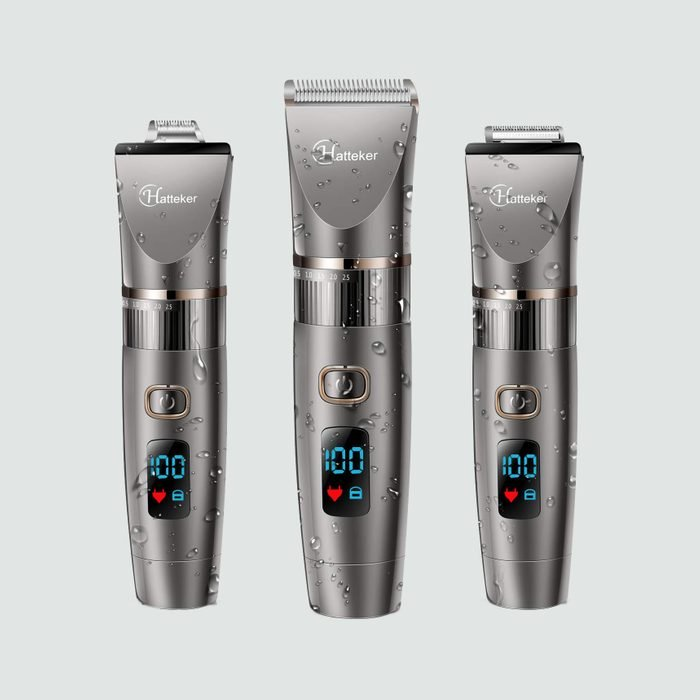 Hatteker Mens Beard Trimmer Cordless Hair Trimmer