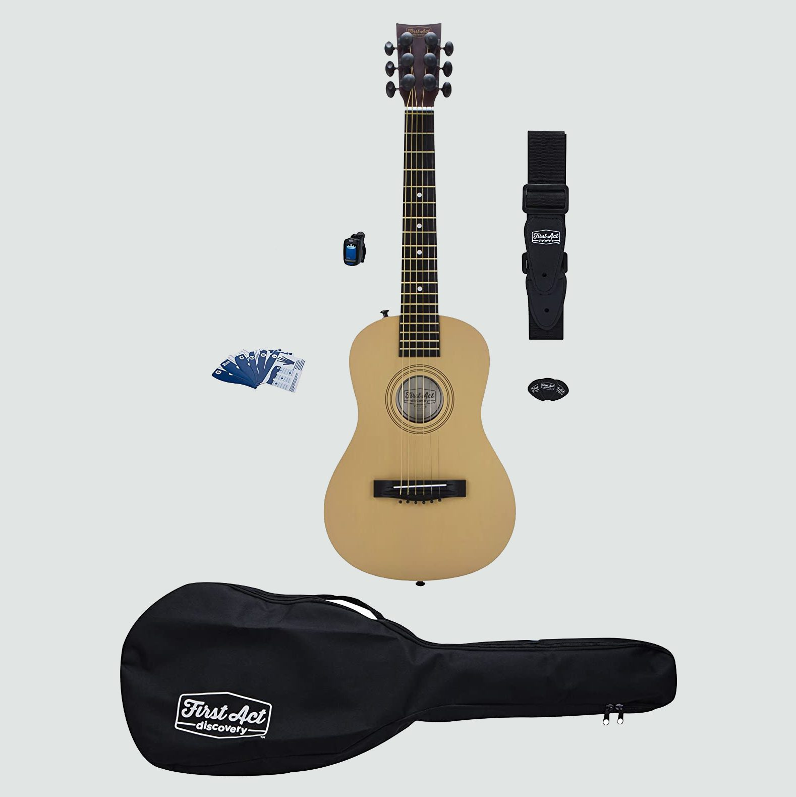 First Act Discovery Acoustic Guitar Beginner Pack