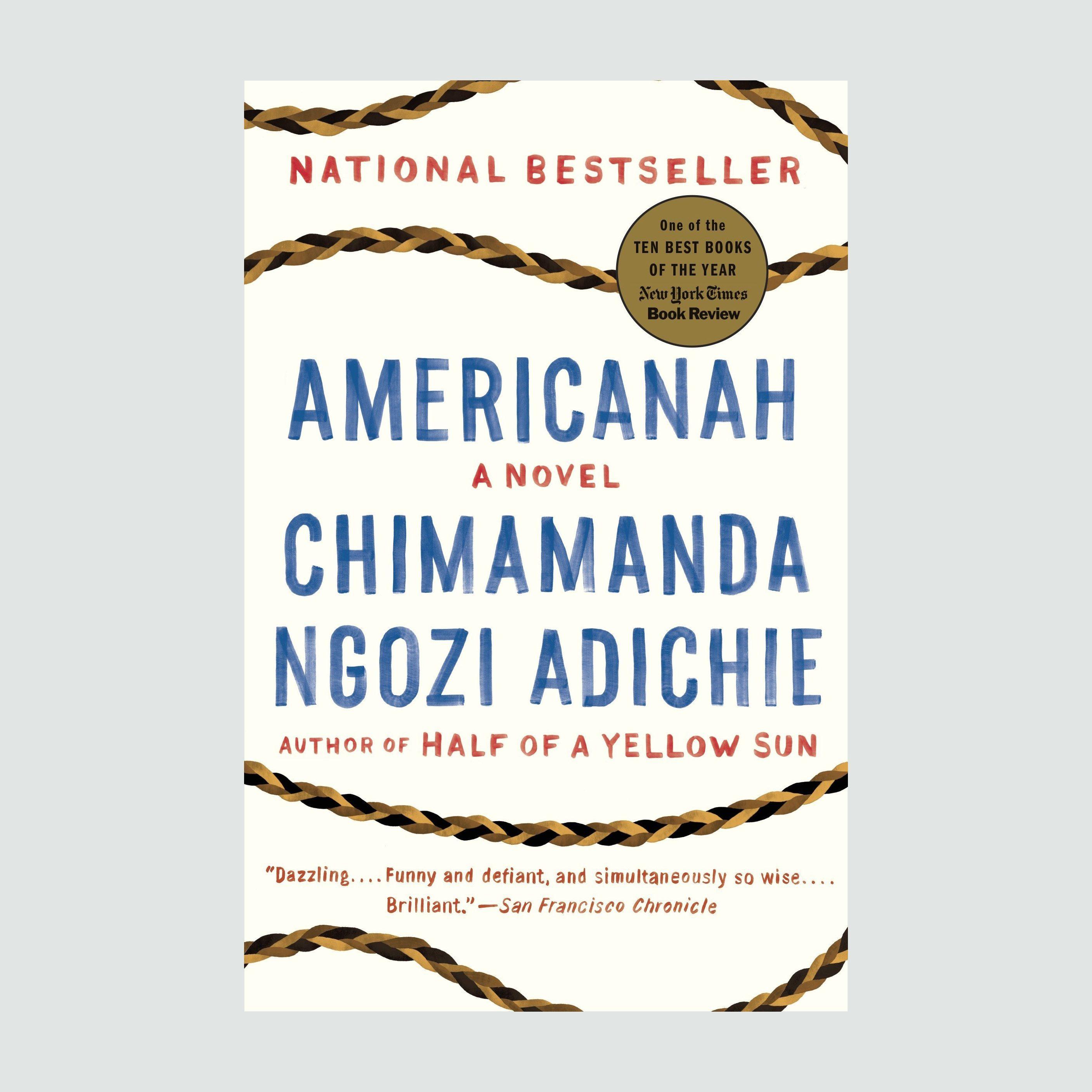 Americanahby Chimamanda Ngozi Adichie book