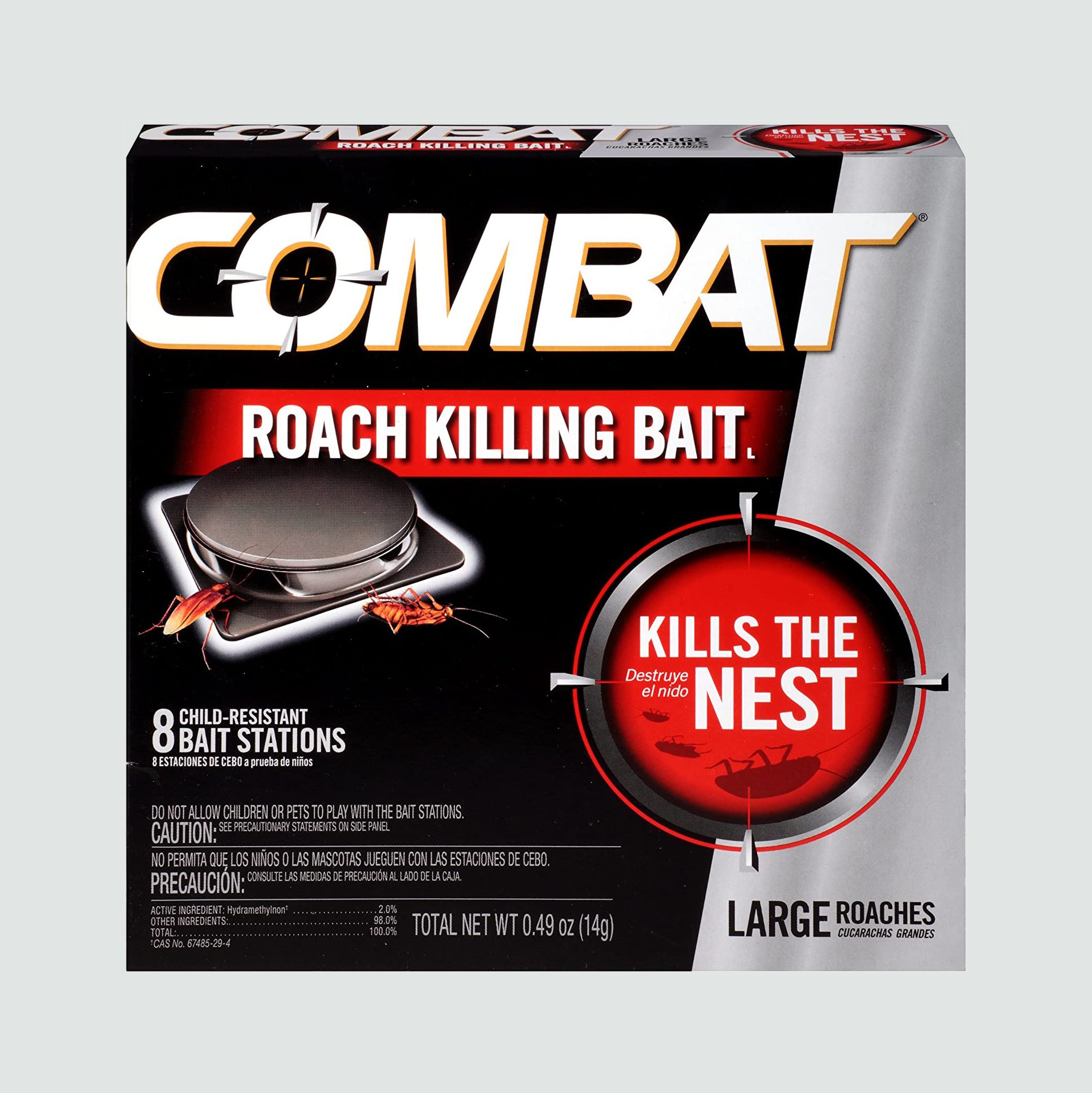 combat cock roach bait