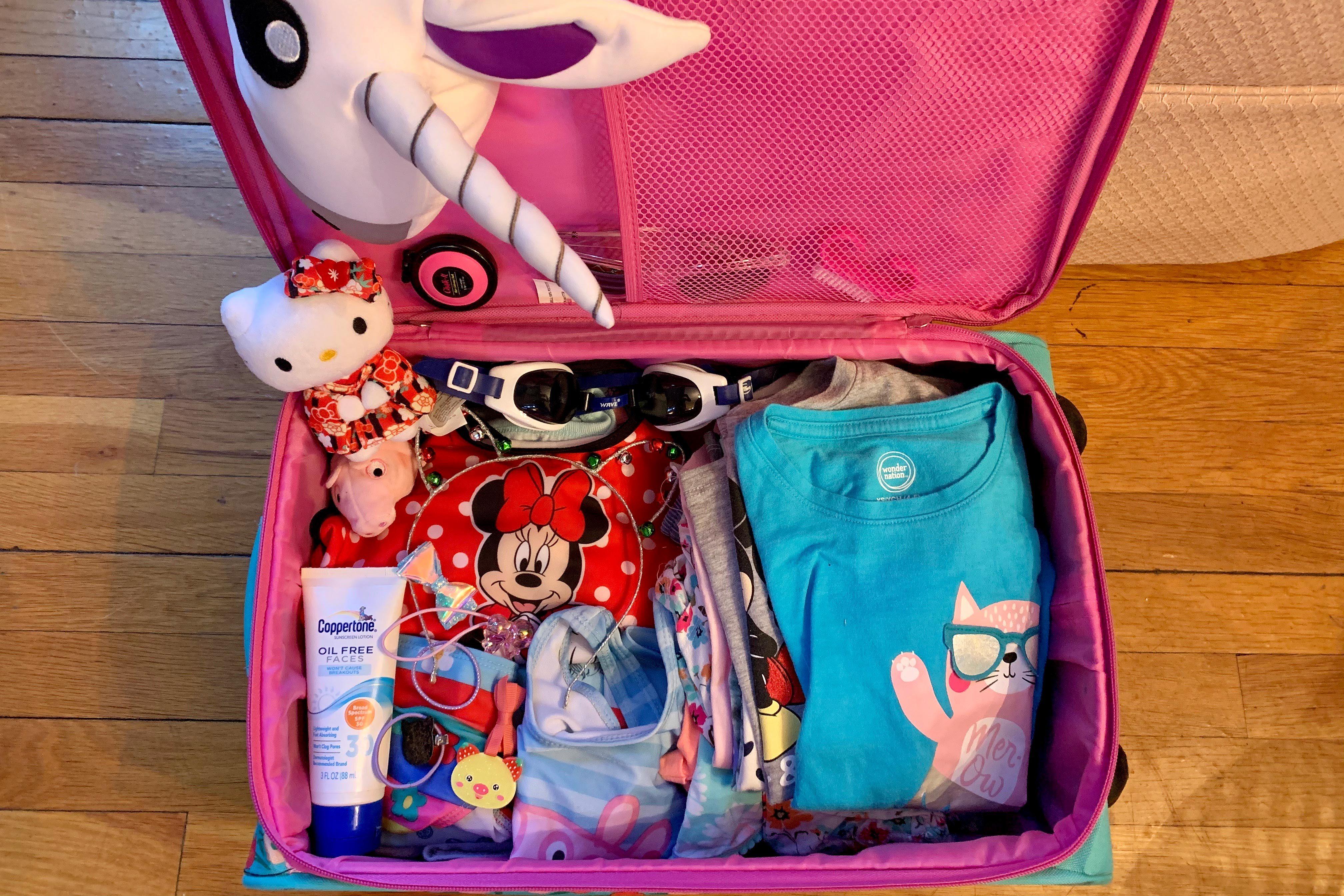 suitcase spring break from home quarantine