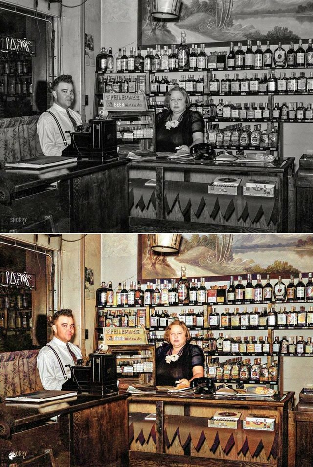 colorized bar