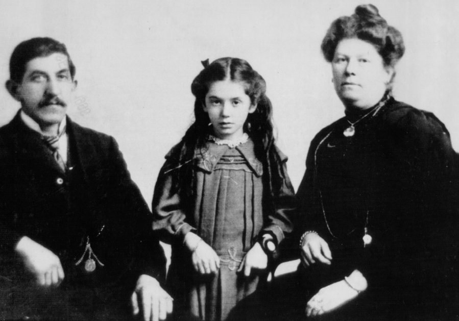 bejamin, eva, and esther hart