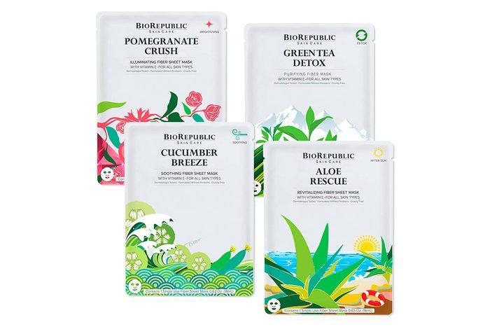 Biorepublic Skincare Hydrating Sheet Masks